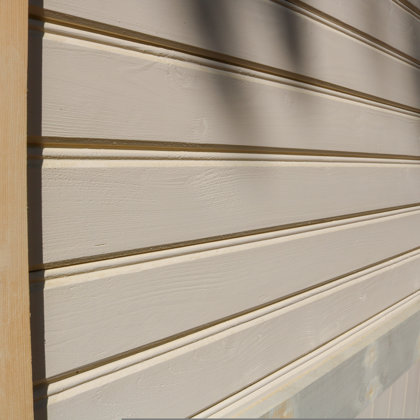 Exterior solid spruce boards