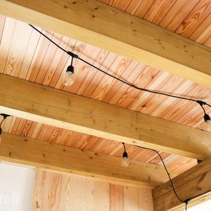 Pine floor planks, parquet