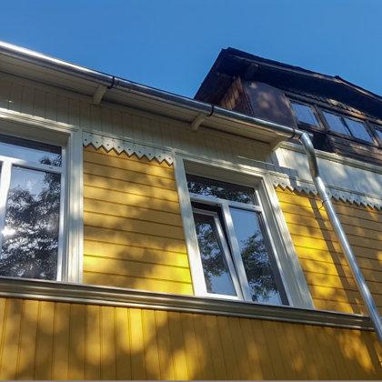 Exterior finishing boards - restoration