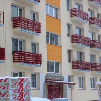 Solid spruce - balcony shields